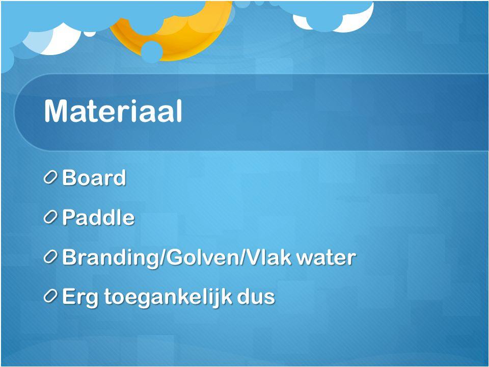 Materiaal BoardPaddle Branding/Golven/Vlak water Erg toegankelijk dus
