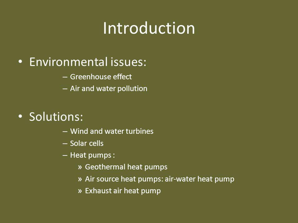 Voor – en nadelen Voordelen: – Milieuvriendelijk – Laag verbruik – Onderhoudsvrij – Lange levensduur – Geen tank van toepassing – Lucht = onuitputbaar Werking COP vs SPF Milieu CO2- uitstoot Voor- nadelen Kosten