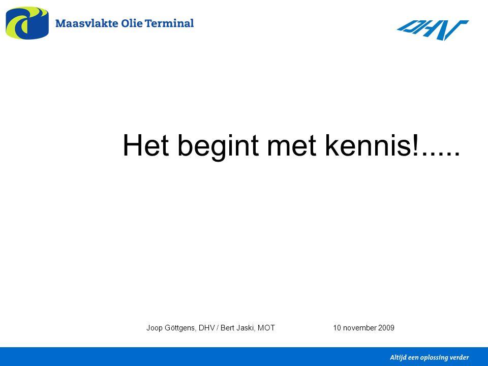 Het begint met kennis!..... Joop Göttgens, DHV / Bert Jaski, MOT10 november 2009
