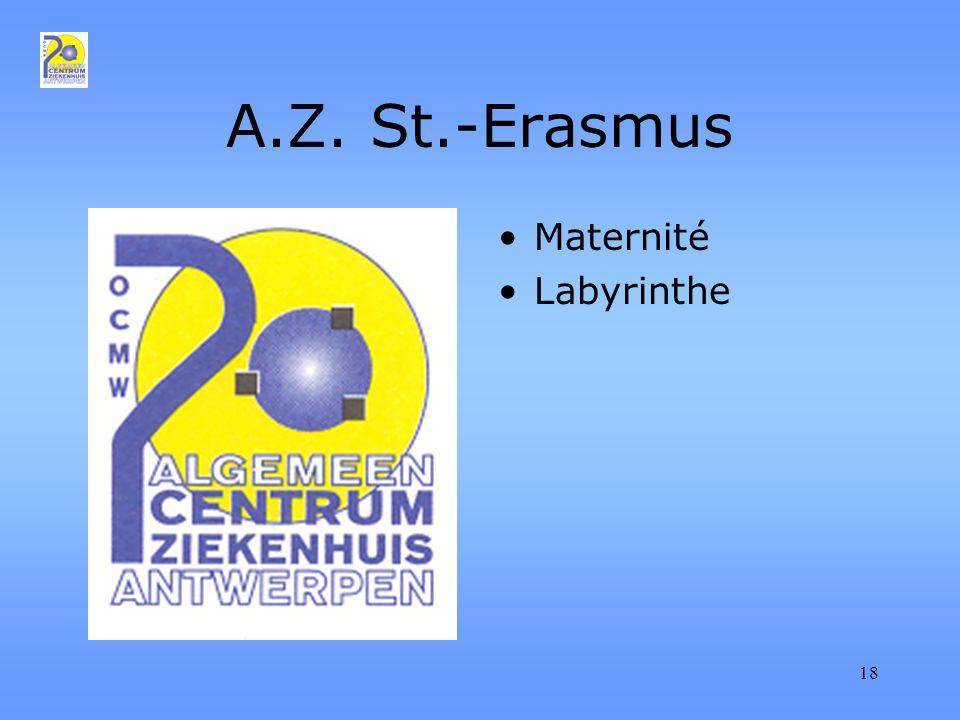 18 A.Z. St.-Erasmus Maternité Labyrinthe