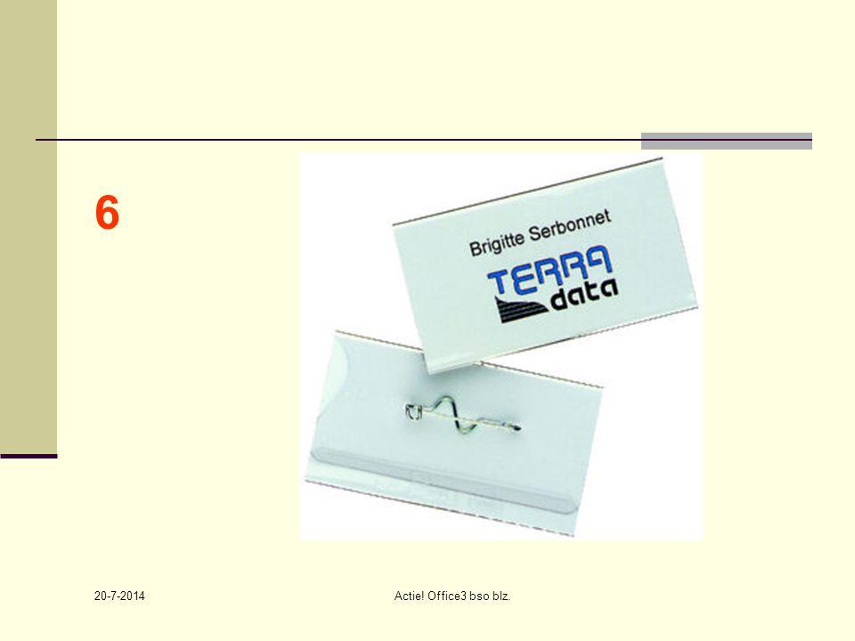 20-7-2014 Actie! Office3 bso blz. 6