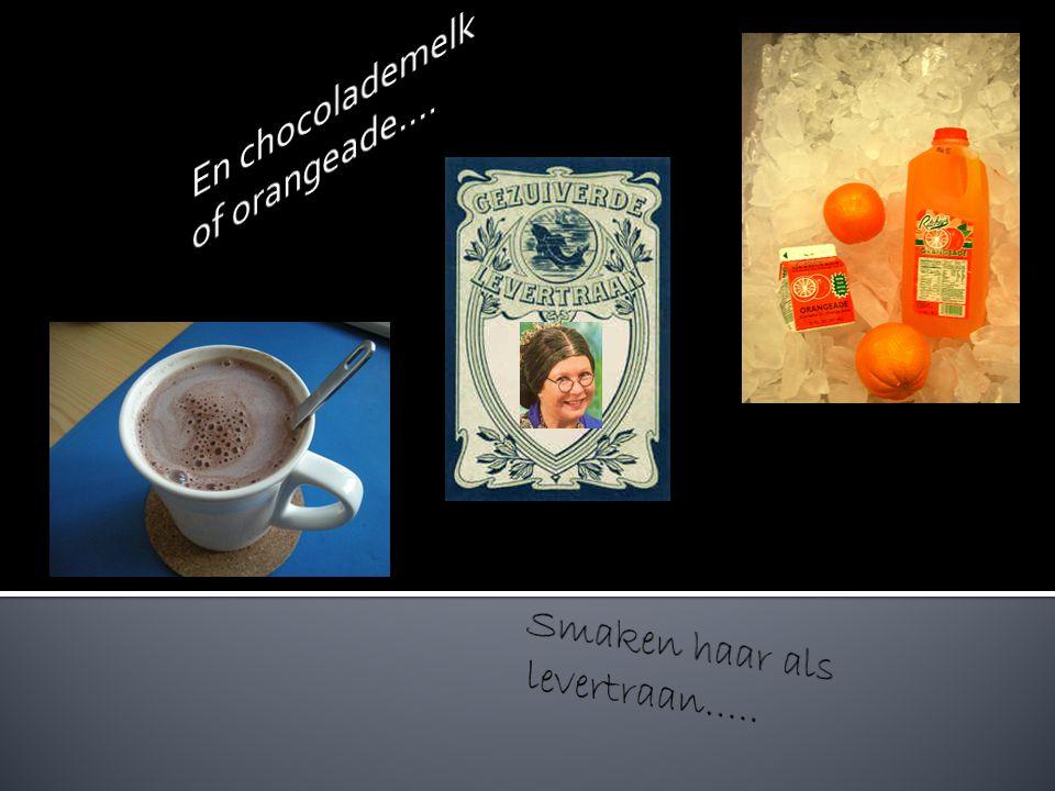Thee of koffie laat zij staan……