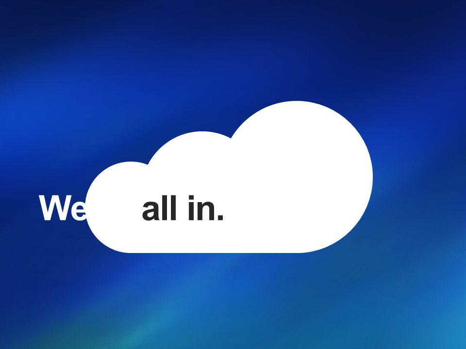 Microsoft s Visie Creëer een grenzeloze ervaring dat de magie van software combineert met de kracht van Internet services over een wereld van toestellen