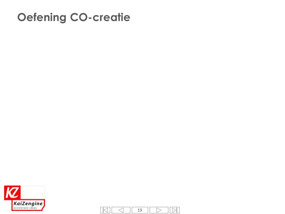 19 Oefening CO-creatie 19