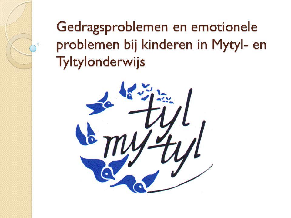 Gedragsproblemen en emotionele problemen bij kinderen in Mytyl- en Tyltylonderwijs