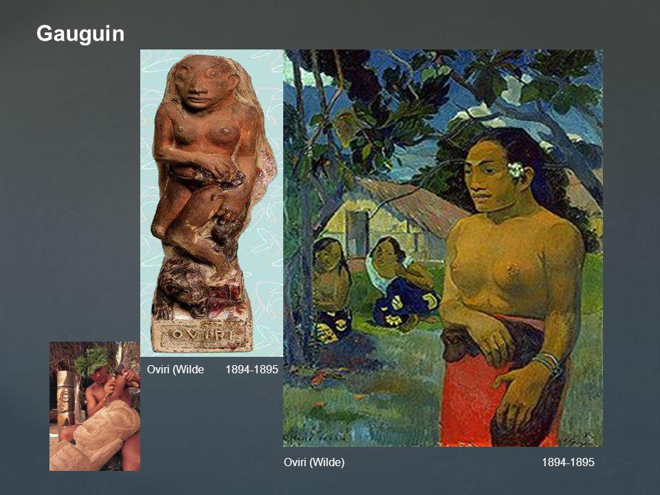 Gauguin Oviri (Wilde 1894-1895 Oviri (Wilde) 1894-1895