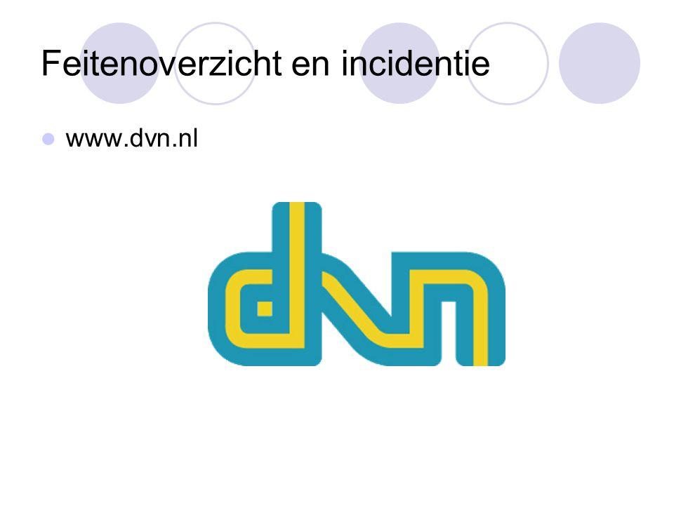 Feitenoverzicht en incidentie www.dvn.nl