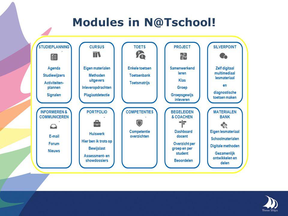Modules in N@Tschool!