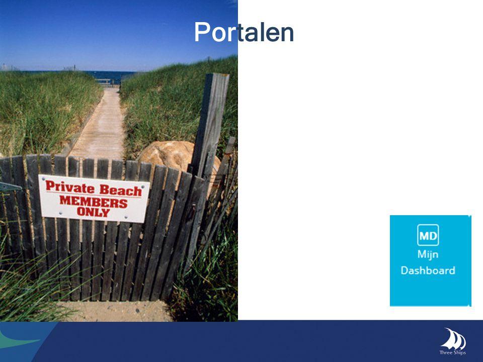 Portaal (Dashboard) - Menu