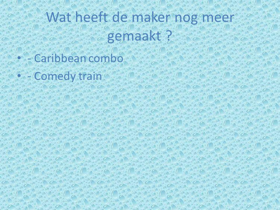 Wat heeft de maker nog meer gemaakt - Caribbean combo - Comedy train
