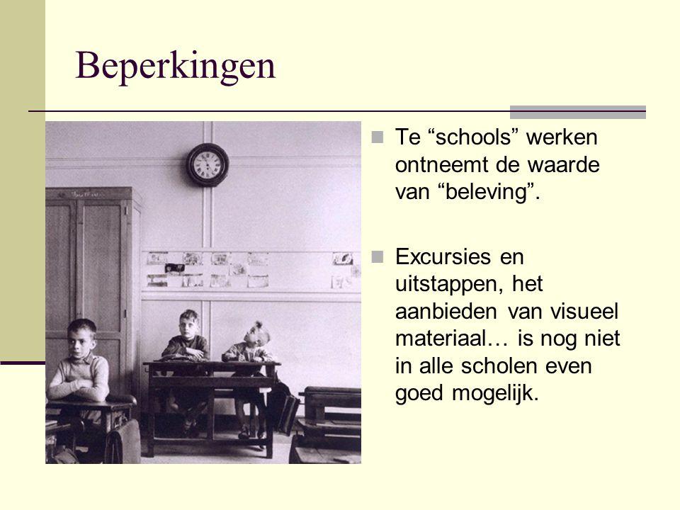 Rol van externen Deskundigheid van externen in het onderwijs is niet altijd evident.