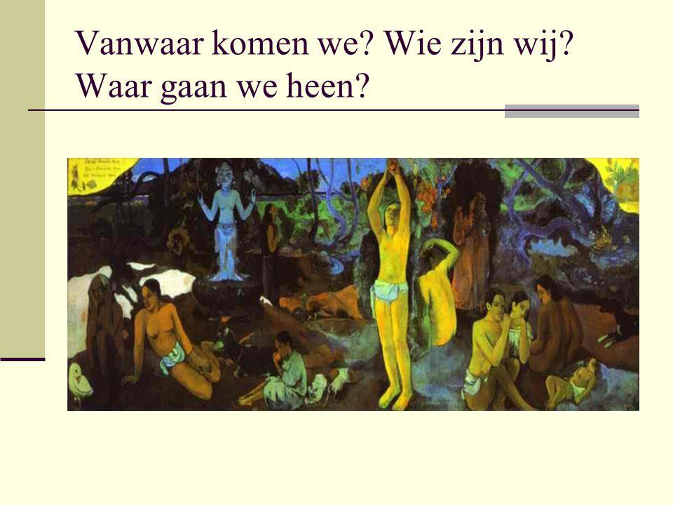 Westerse culturele traditie of mythe van de vooruitgang.