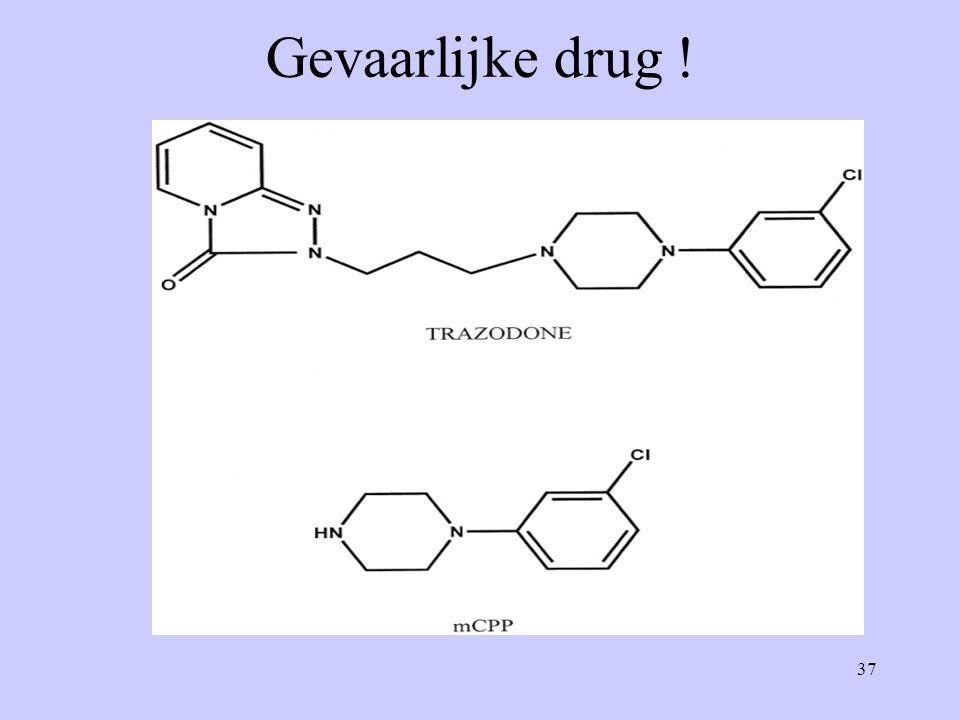 37 Gevaarlijke drug !