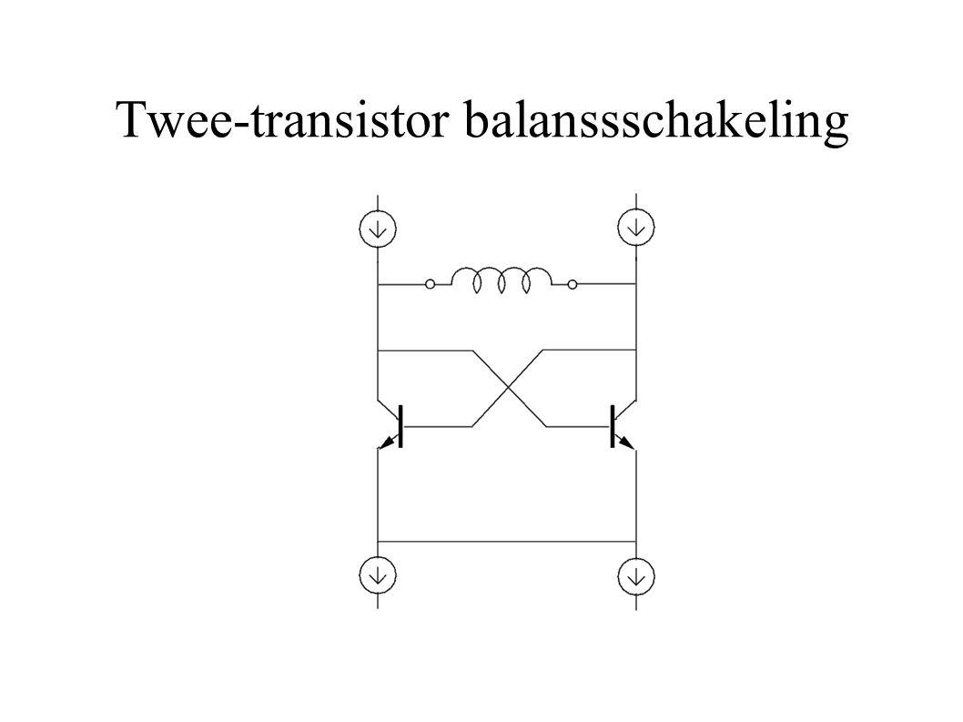 Twee-transistor balansschakeling Hoe werkt deze schakeling.
