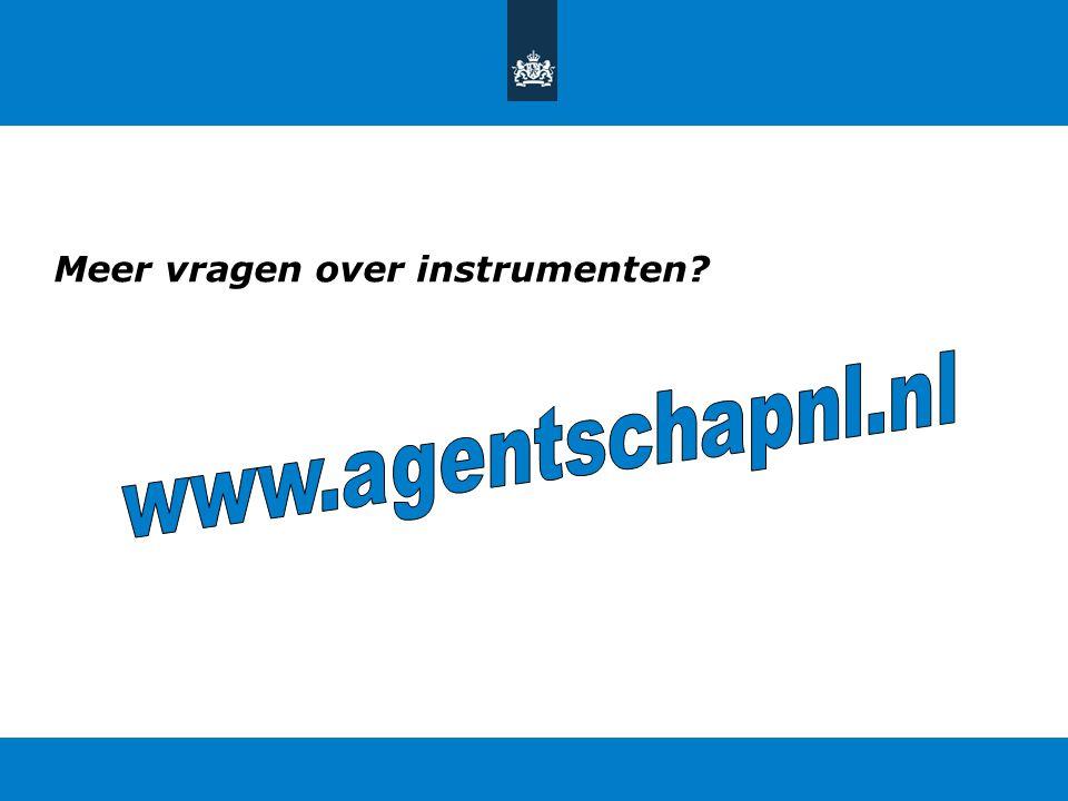 Meer vragen over instrumenten?