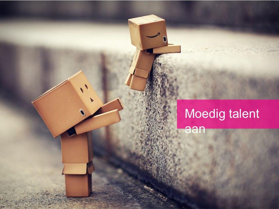 Moedig talent aan