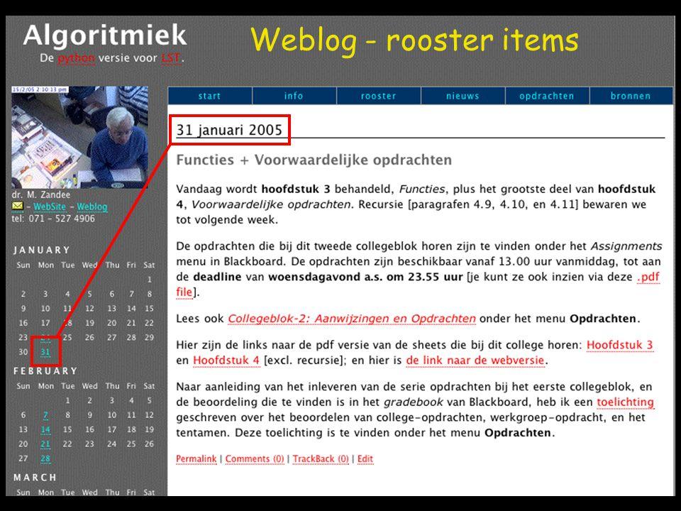 Webfeed (RSS) verzamelaar (aggregator) Automatische update + notification
