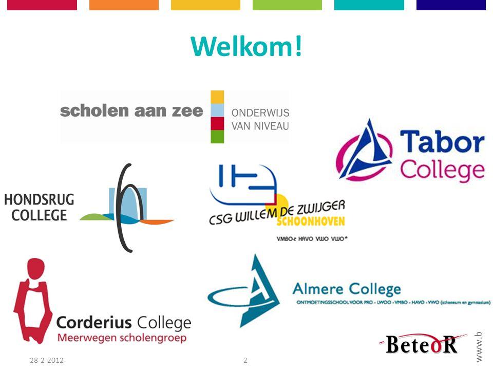www.beteor.nl Welkom! 28-2-20122