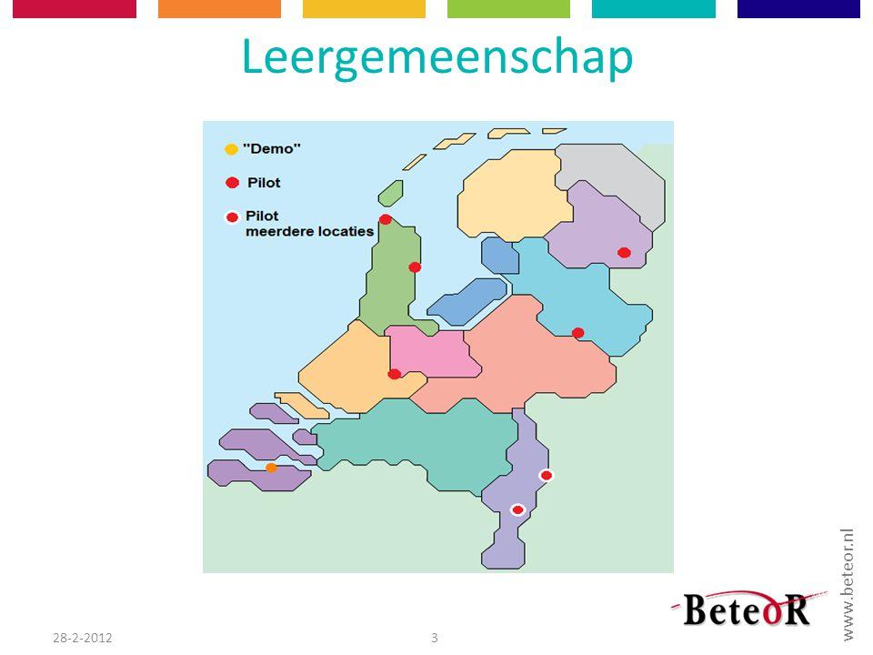 www.beteor.nl Leergemeenschap 28-2-20123