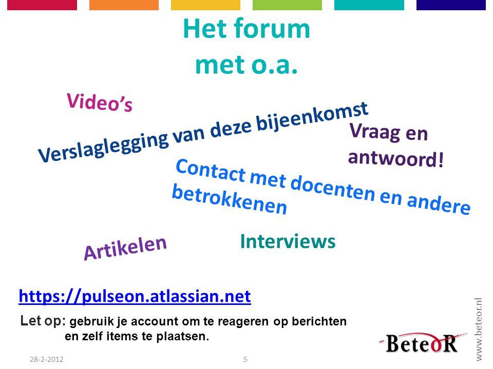www.beteor.nl 28-2-20126
