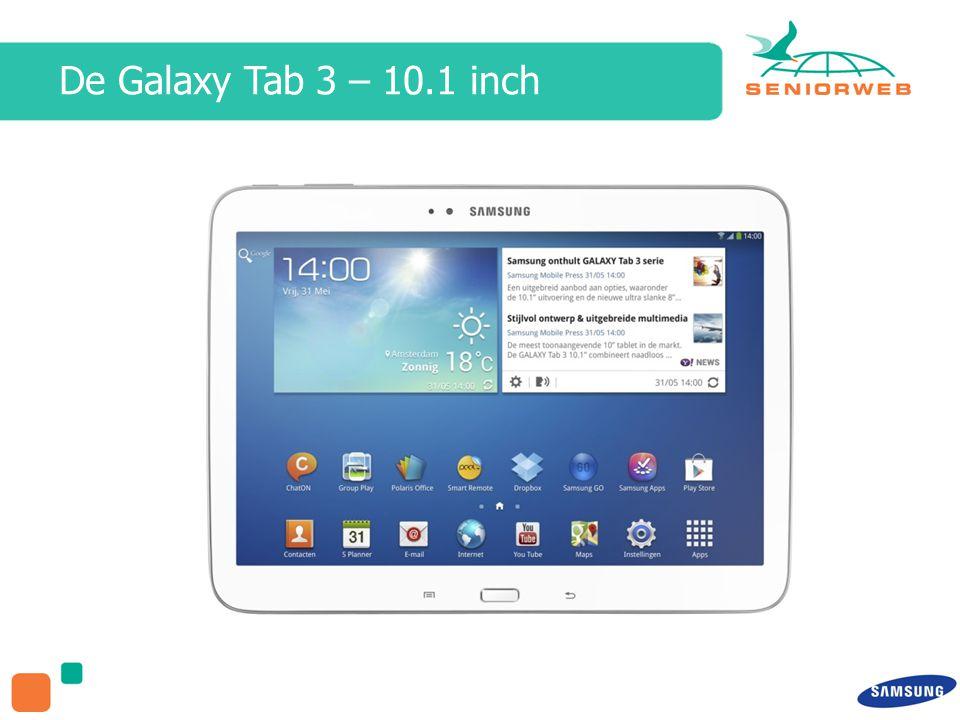 De Galaxy Tab 3 – 10.1 inch