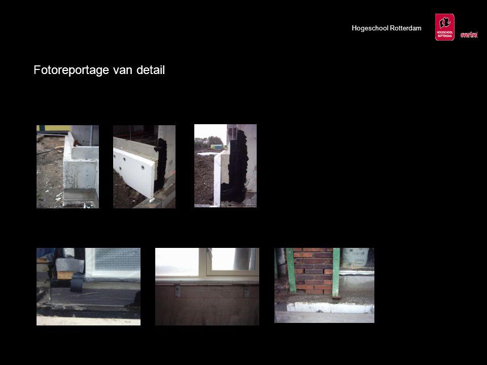 Hogeschool Rotterdam Fotoreportage van detail