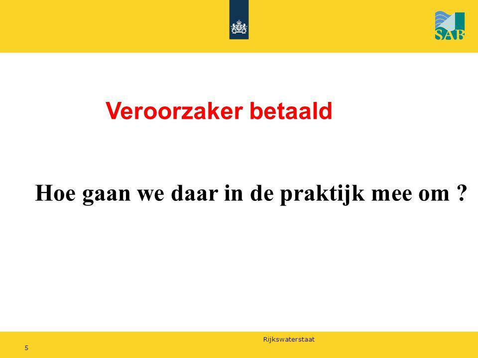 Rijkswaterstaat Nu 5 % havengelden 2 cent per liter bilgewater subsidie Min.