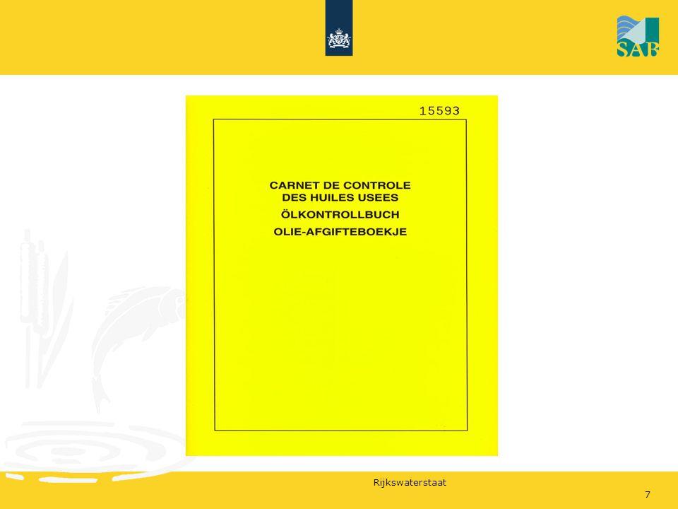 Rijkswaterstaat Petje op Petje af voor het SAV1822 oktober 2009 Deel B; Kaders en spelers Laden en lossen van een schip in het kader van goederenvervoer Vloeibare lading en droge lading (niet gassen) Restlading, Ladingsrestanten, Overslagresten, waswaters Verlader (afzender), degene die de vervoersopdracht heeft verleend Vervoerder, degene die zich beroepsmatig tot het vervoer verbindt Ladingontvanger (ontvanger), degene die gerechtigd is de goederen in ontvangst te nemen