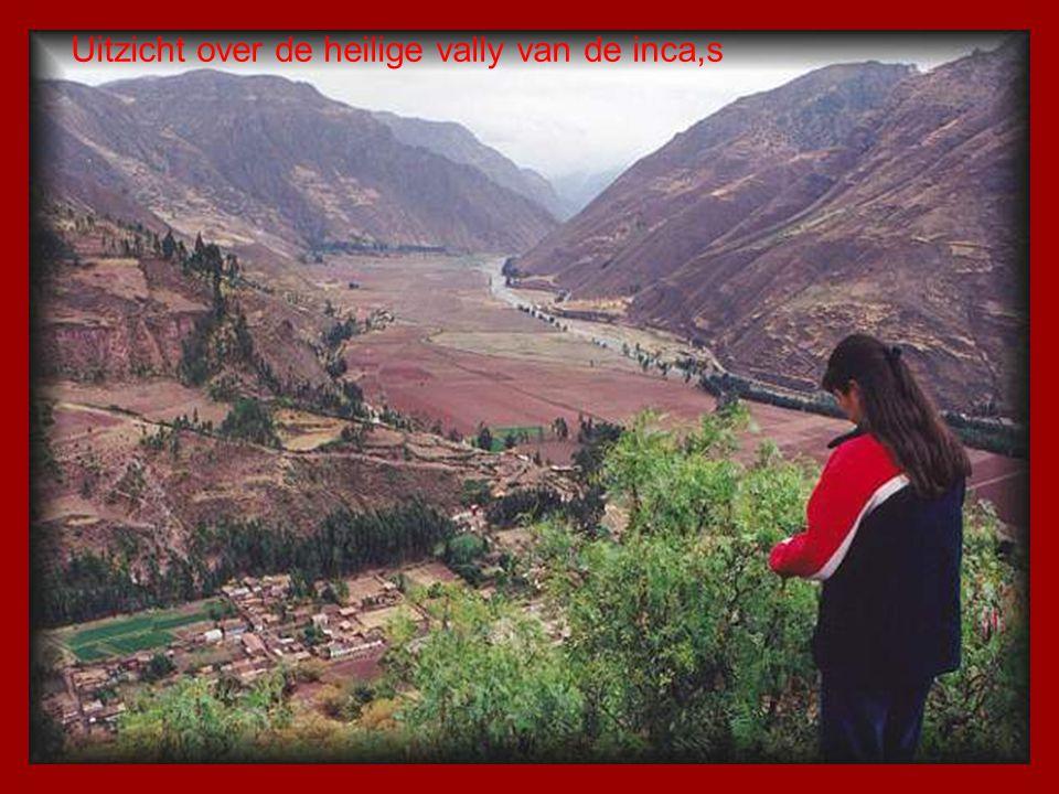 De heilige vally van de inca,s