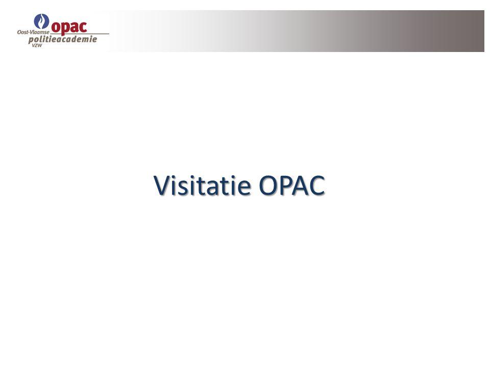 Visitatie OPAC