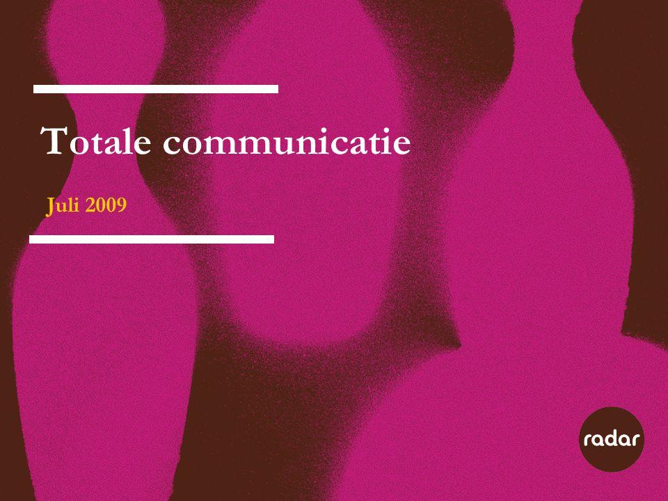 Totale communicatie Juli 2009