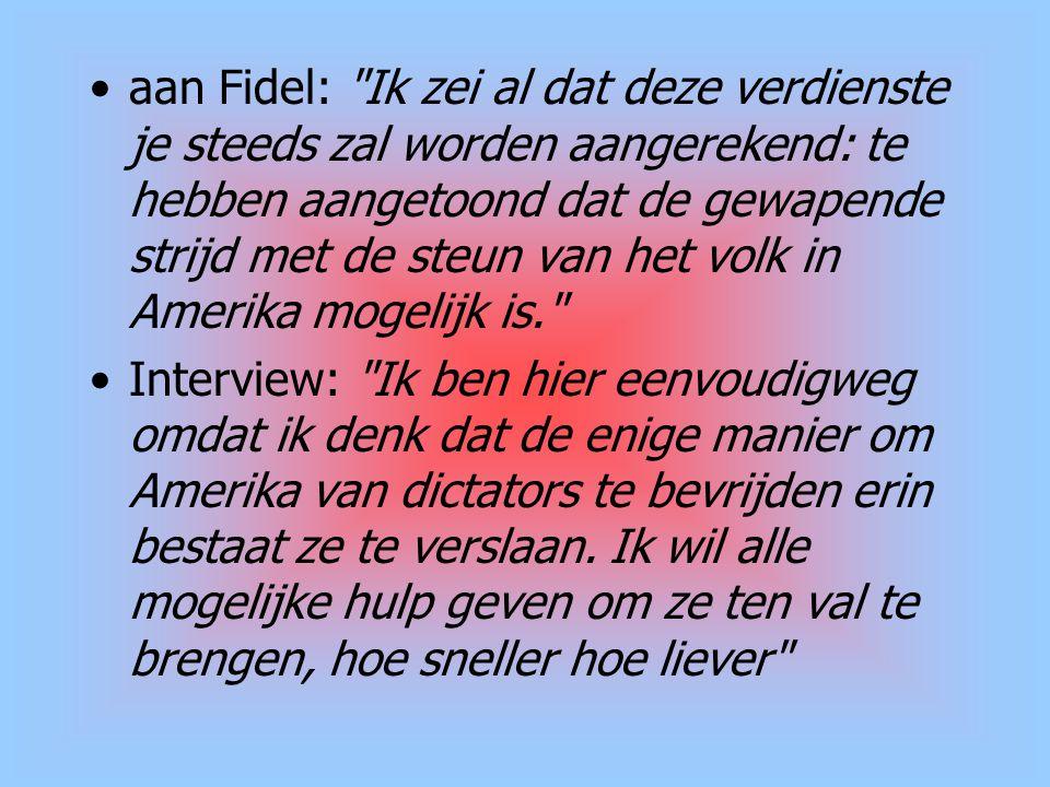 aan Fidel: