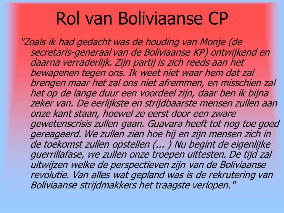 Rol van Boliviaanse CP