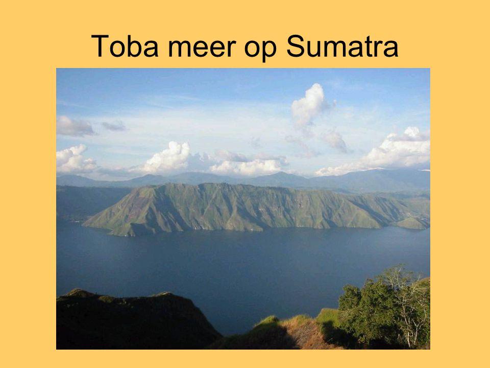 Toba meer op Sumatra