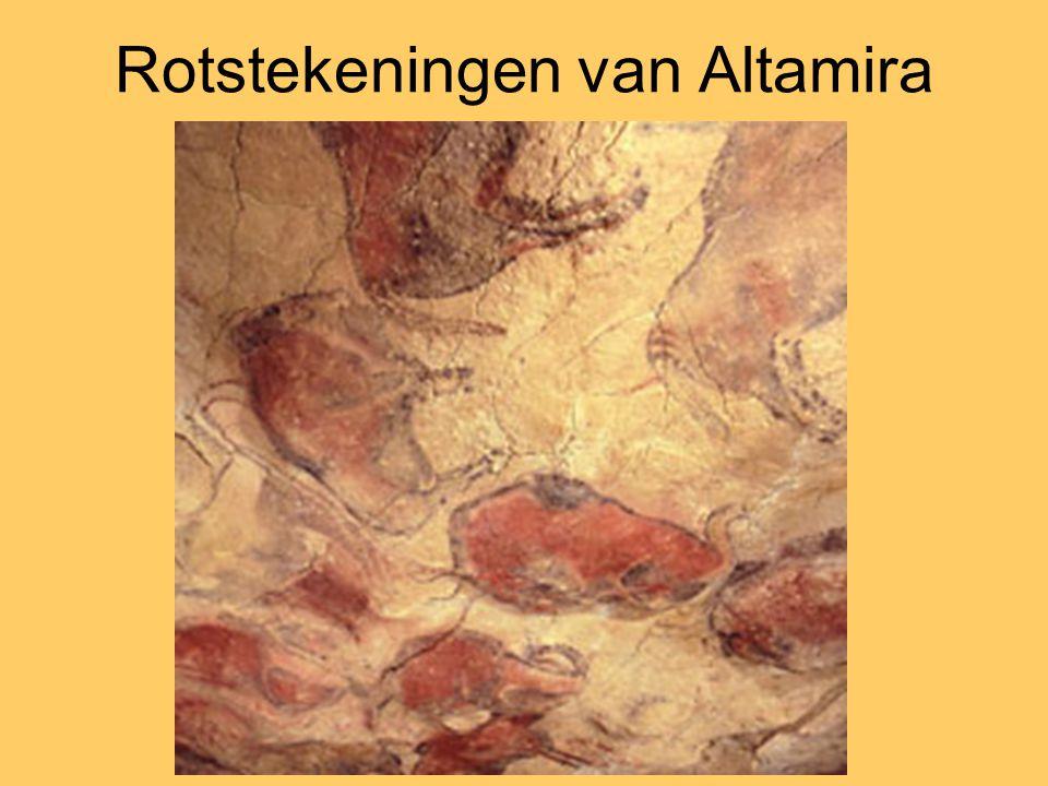 Rotstekeningen van Altamira