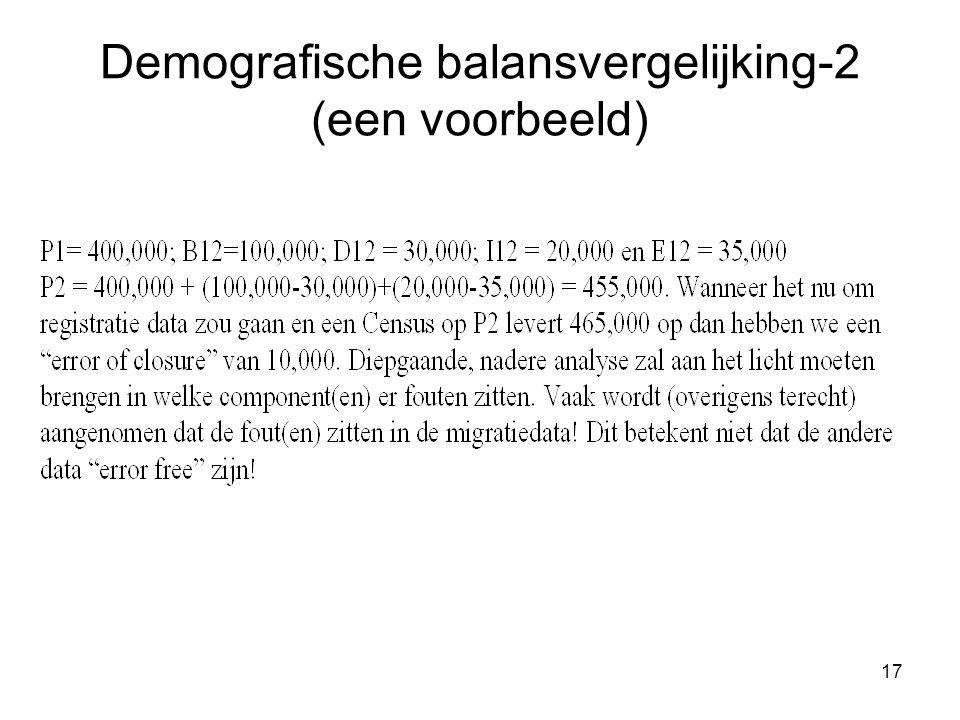 17 Demografische balansvergelijking-2 (een voorbeeld)