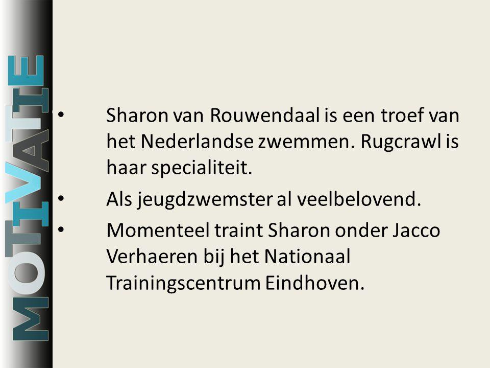 Sharon van Rouwendaal is een troef van het Nederlandse zwemmen.