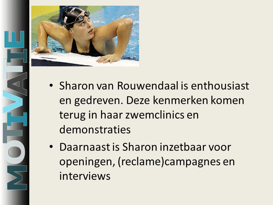 Sharon van Rouwendaal is enthousiast en gedreven.