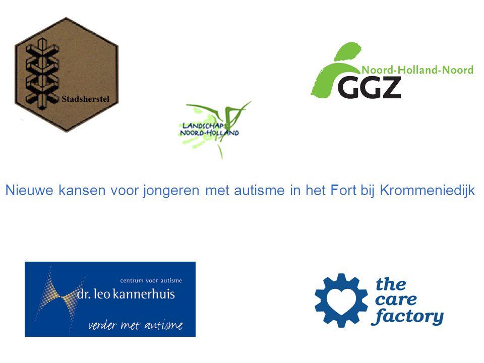 Contouren van een project van Stadsherstel, Landschap Noord-Holland en The Care Factory ten behoeve van de maatschappelijke integratie van jongeren met autisme in Noord Holland in samenwerking met met GGZ Noord Holland Noord, dr.