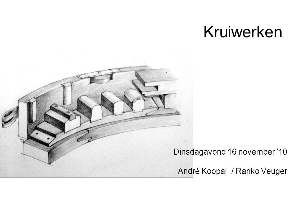 Kruiwerken Dinsdagavond 16 november '10 André Koopal / Ranko Veuger