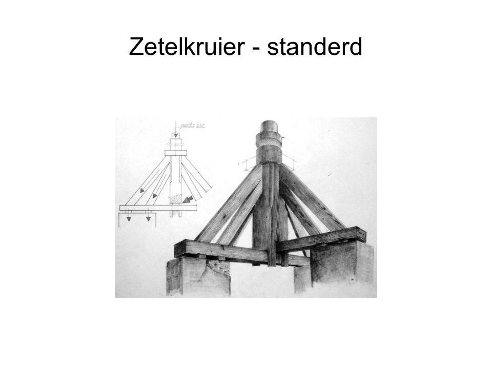 Zetelkruier - standerdmolen