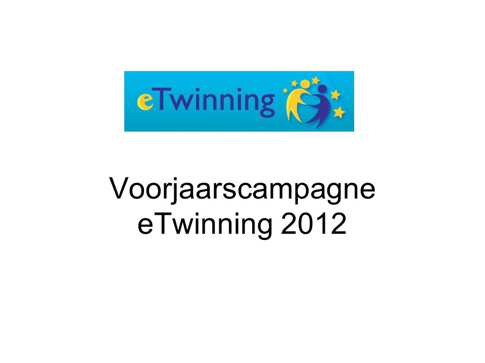 Voorjaarscampagne eTwinning 2012