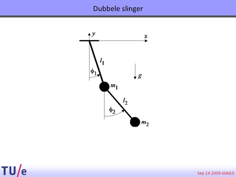 Sep 14 2009 slide Dubbele slinger 10