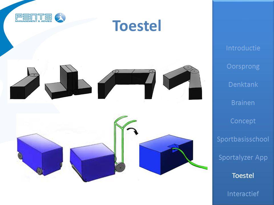 Toestel Introductie Oorsprong Denktank Brainen Concept Sportbasisschool Sportalyzer App Toestel Interactief Introductie Oorsprong Denktank Brainen Concept Sportbasisschool Sportalyzer App Toestel Interactief
