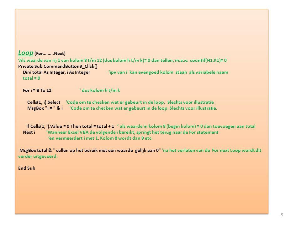 Opdracht 1 Plaats op het bereik P1:P5 waarden die boven en onder 32 liggen.