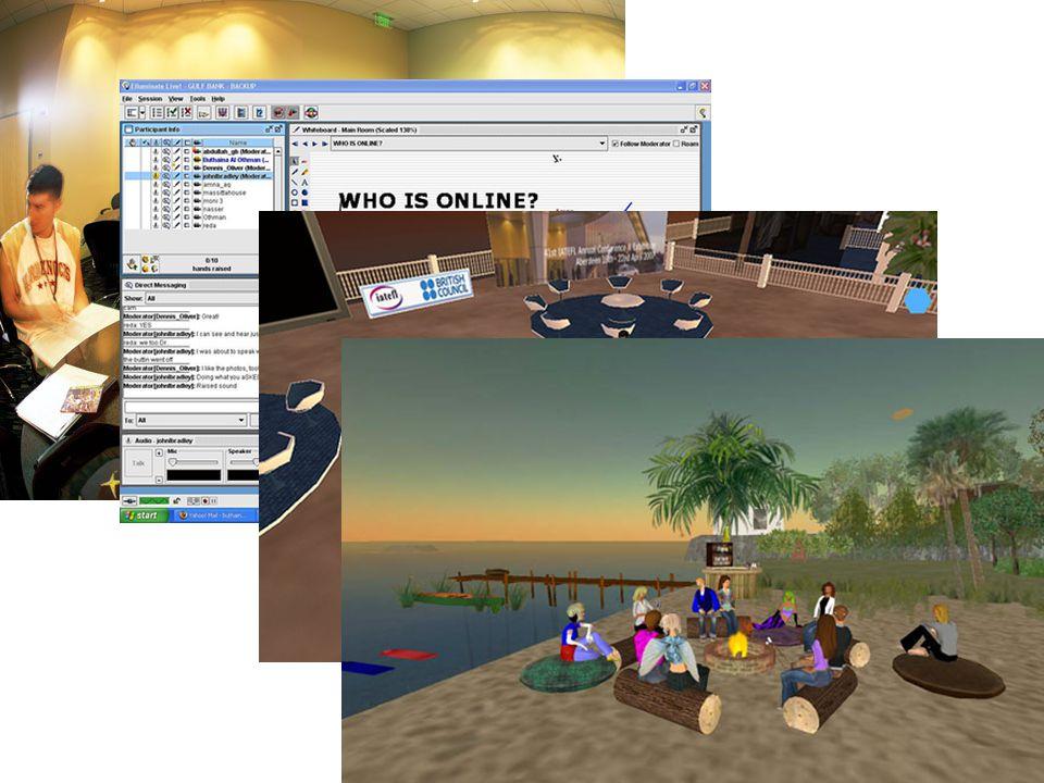 e-Learning 2.0 (Informeel) Downes (2005) Ervaringsgericht / werkplekleren Openheid naar maatschappij / minder structuur Student-gedreven – focus op groepsleren We bepalen samen wat er geleerd wordt – Niemand kan alles weten ICT – Gebruik maken van Web 2.0 middelen Buiten grenzen van school & werkplek