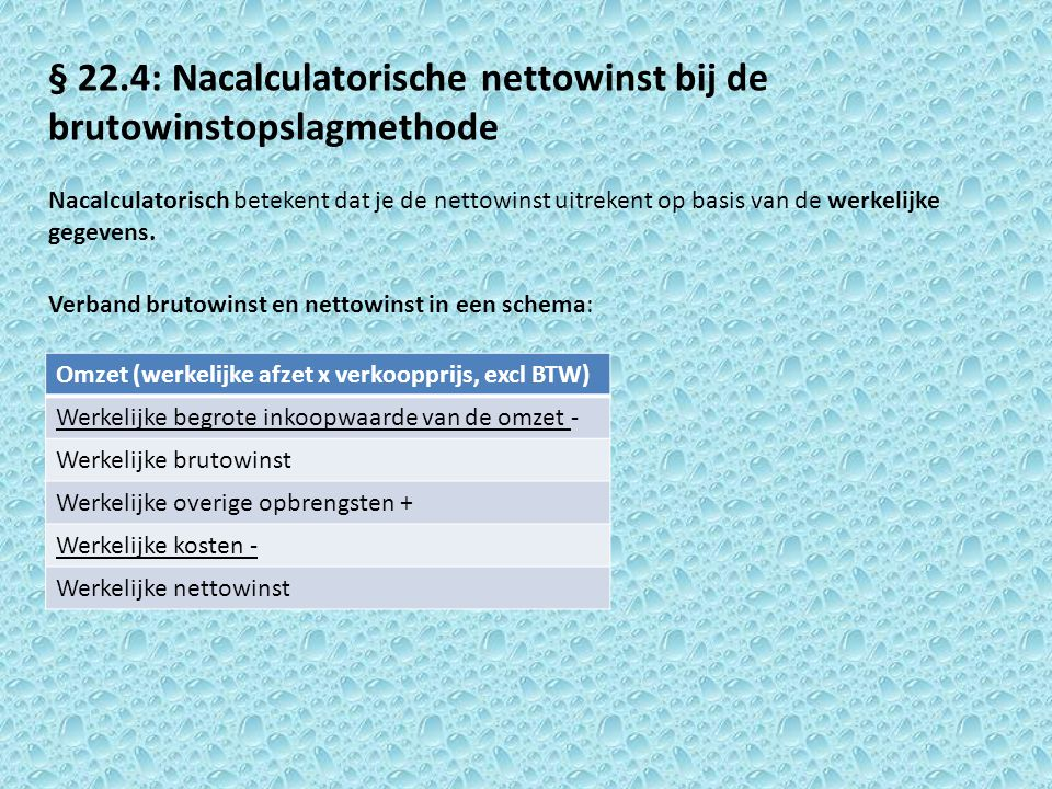 Voorbeeld: Emre Wiltink verkoopt het product Gruyt voor de prijs van € 41, exclusief 19% omzetbelasting.