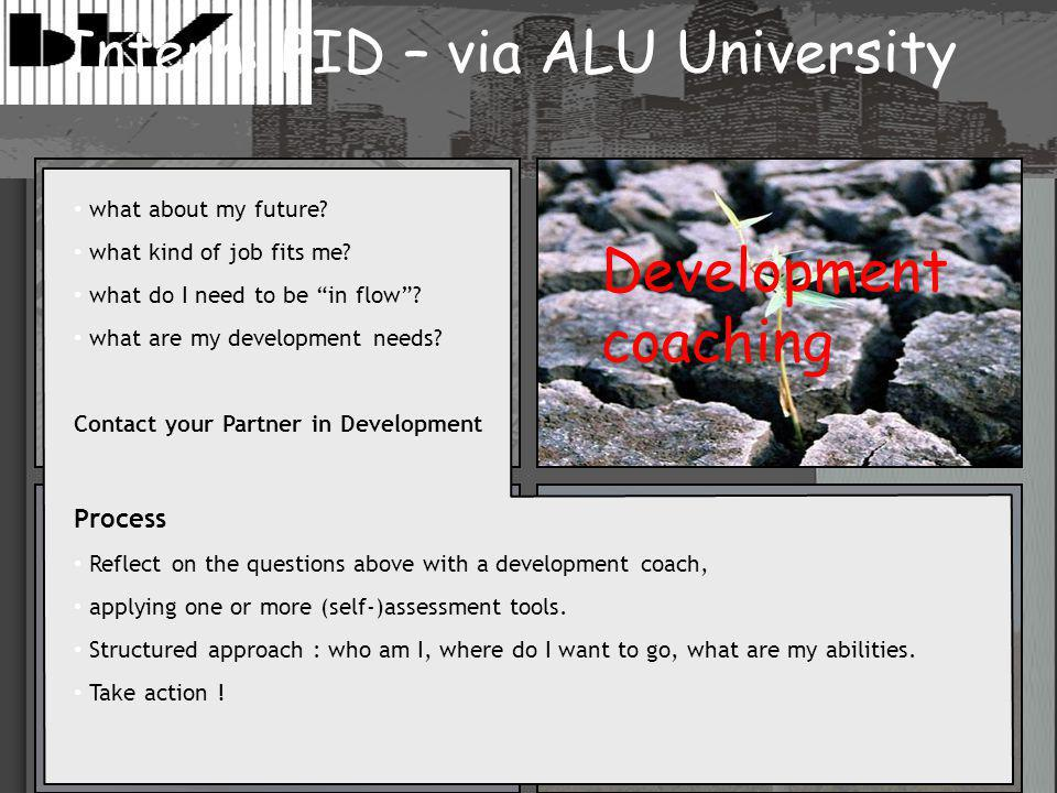 """what about my future? what kind of job fits me? what do I need to be """"in flow""""? what are my development needs? Contact your Partner in Development Pro"""