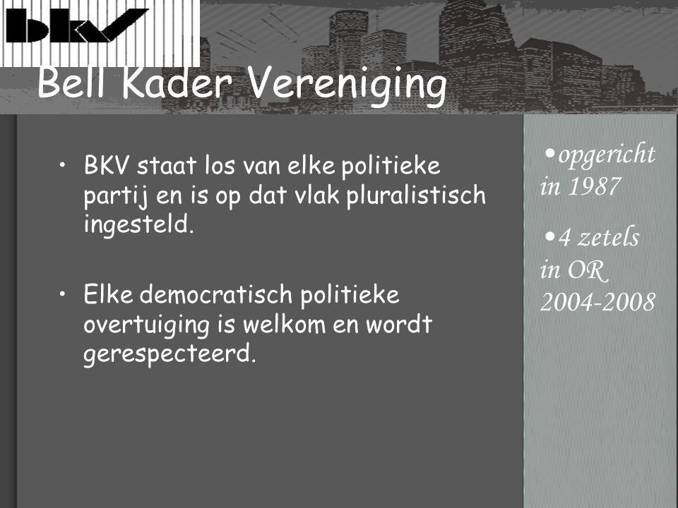 BKV staat los van elke politieke partij en is op dat vlak pluralistisch ingesteld.