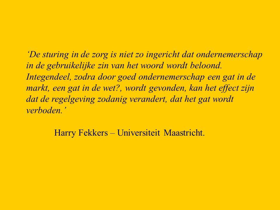 'Organiseer een wedstrijd vanuit de Provincie Limburg in samenwerking met de grote zorgorganisaties (AZM, UM, Orbis, Hogeschool Zuyd enz).